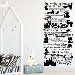 Disney Removable Wall Art Decal